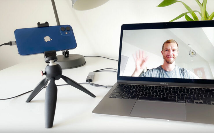 Turn your iPhone into a Webcam with ProCamera v14.4