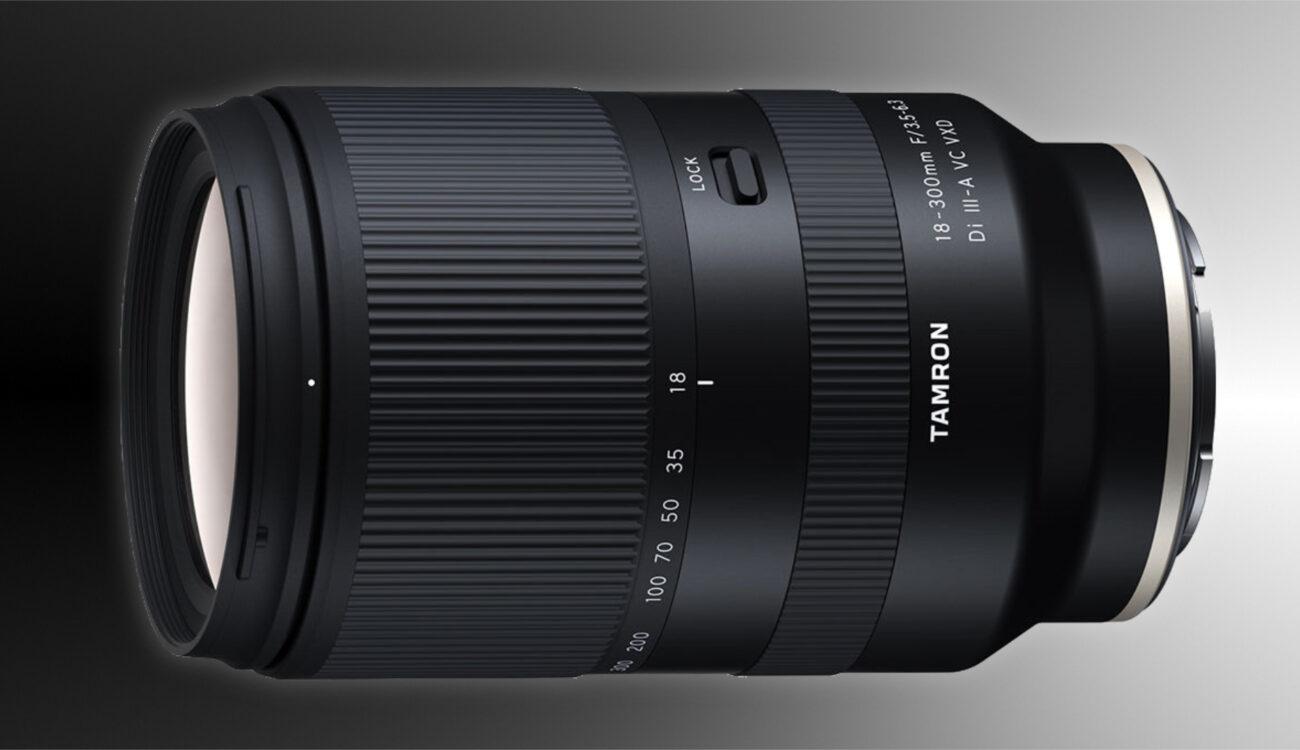 Anuncian el lente zoom Tamron 18-300mm F3.5-6.3 para cámaras FUJIFILM y Sony