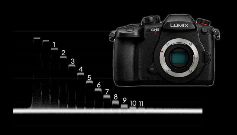 Panasonic LUMIX GH5 II Lab Test – Rolling Shutter, Dynamic Range and Latitude Test