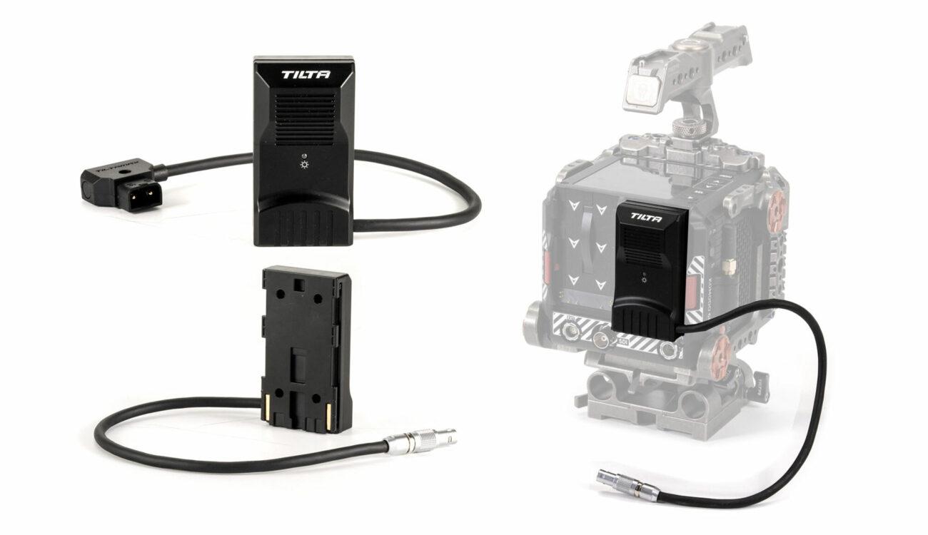 Tilta anunció los adaptadores de simuladores de batería Canon BP para la RED KOMODO