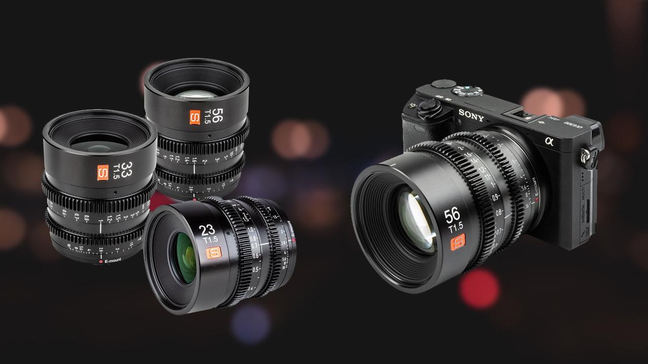 Viltrox E-Mount Cine Lenses for APS-C Released