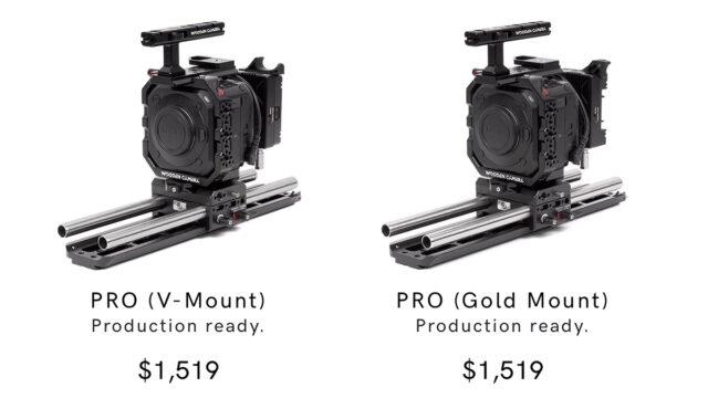 Wooden Camera BGH1 Pro Tiers