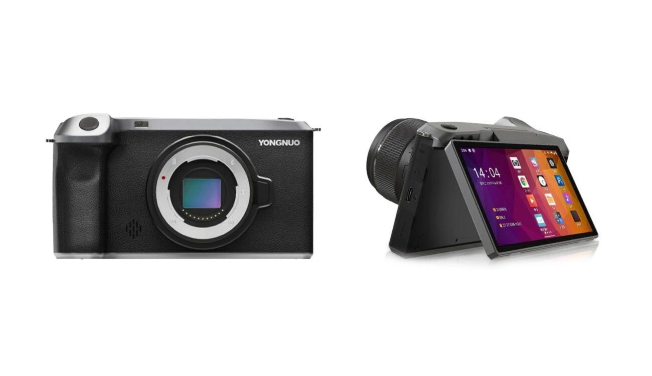 Yongnuo がAndroid搭載MFTミラーレスカメラ「YN455」を発表