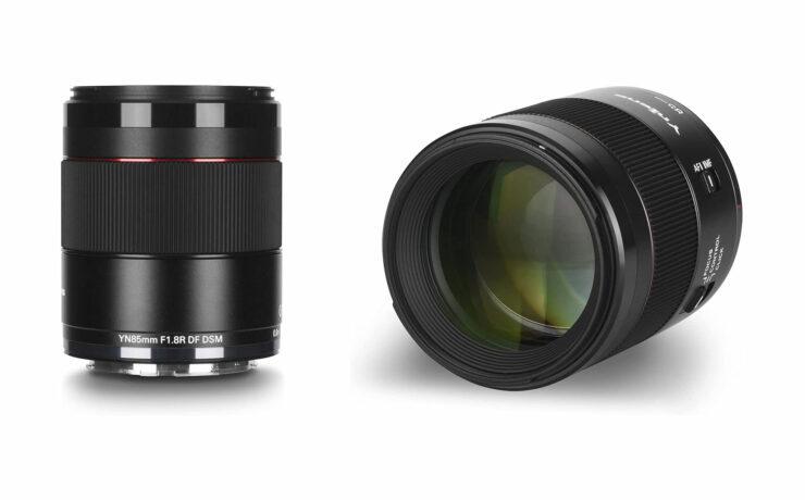 Yongnuo YN 85mm F/1.8R DF DSN Lens for Canon RF Cameras Released
