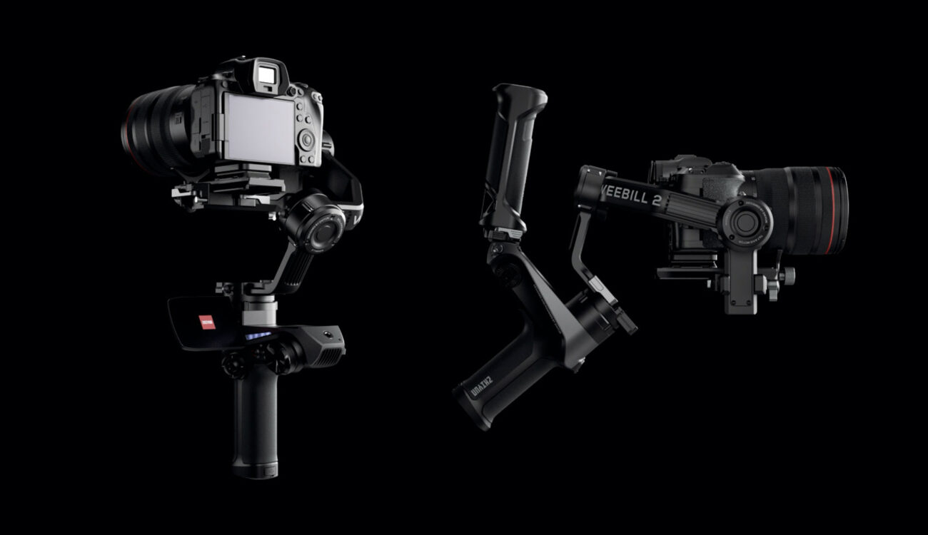 Zhiyun WEEBILL-2 Gimbal with Built-in LCD Screen Announced