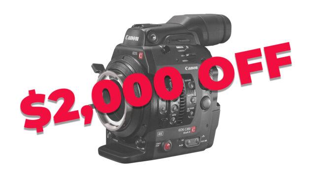 B&H sale c300 mark II