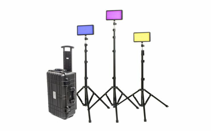 CAME-TV P-20R RGBWW Travel LED Light Kit Introduced