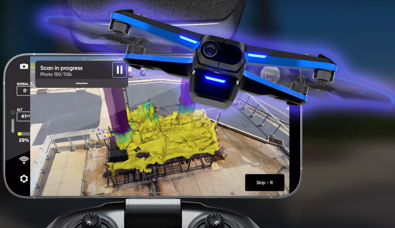 「Skydio 2」ドローンが写真測量で自律的に3Dモデルを構築
