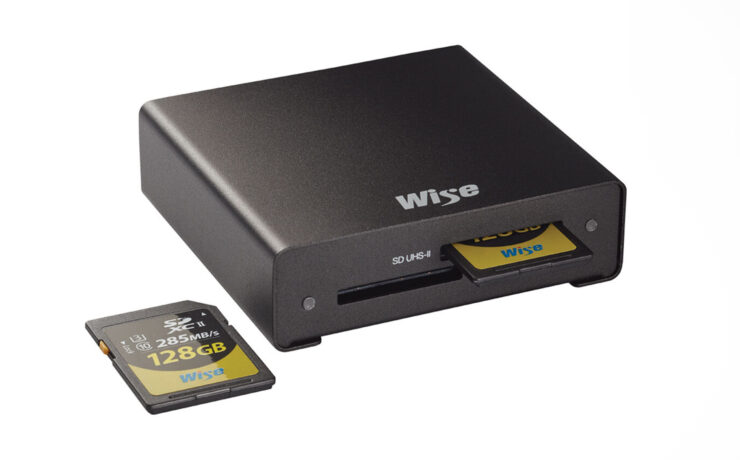 Wise Advance Dual-Slot UHS-II SD Memory Card Reader Launched