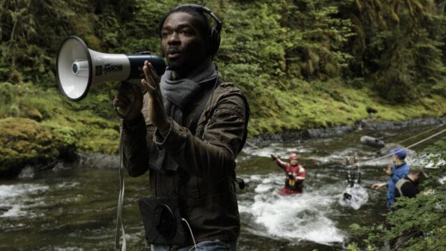 Actor/Director of The Water Man David Oyelowo. DoP Matthew J Lloyd