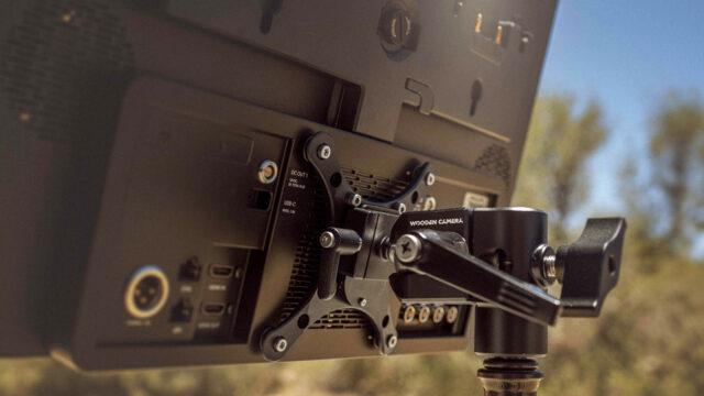 Wooden Camera QR monitor mount