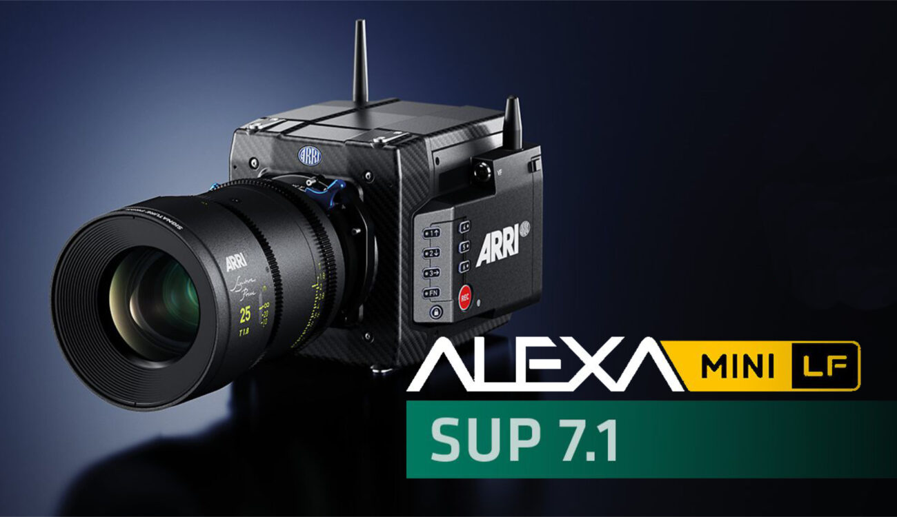 ARRI ALEXA Mini LF SUP 7.1 Now Available – New 1:1 Anamorphic Mode