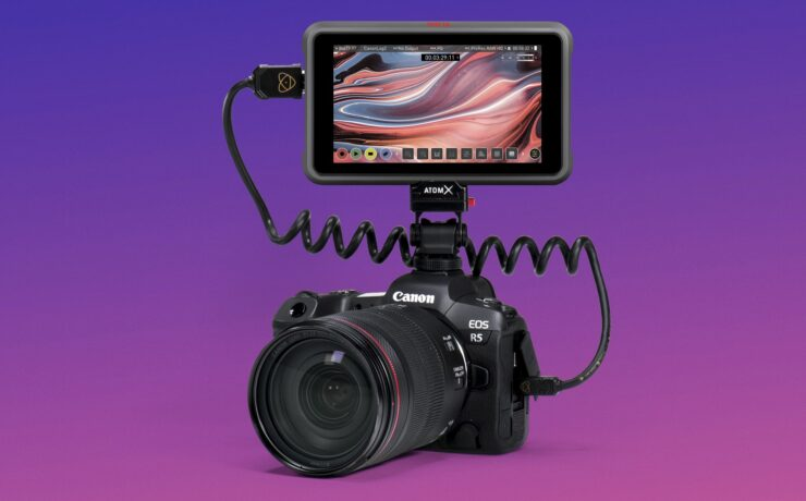 8K ProRes RAW with Atomos Ninja V+ and Canon EOS R5 Now Available