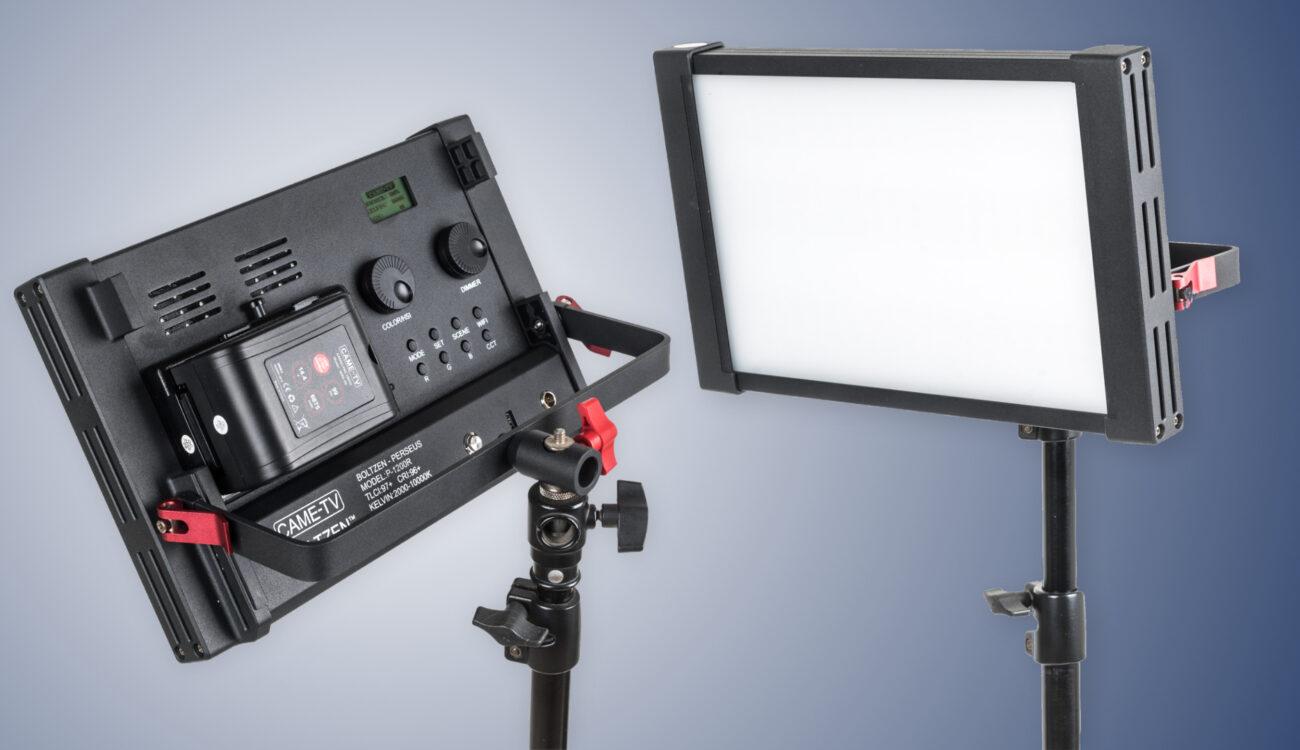 "Nuevo kit CAME-TV Boltzen Perseus Bi-Color de 55W - Otro kit de luces ""Listas para volar"""