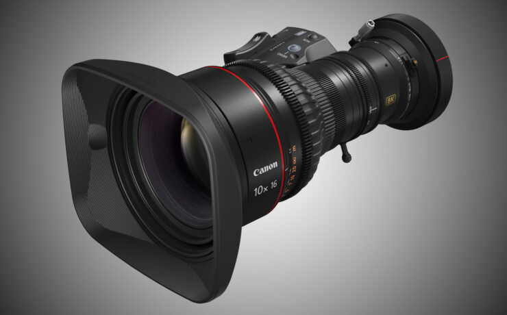 Canon 10x16 KAS S Zoom Lens Announced – Professional 8K Zoom Lens for Broadcast