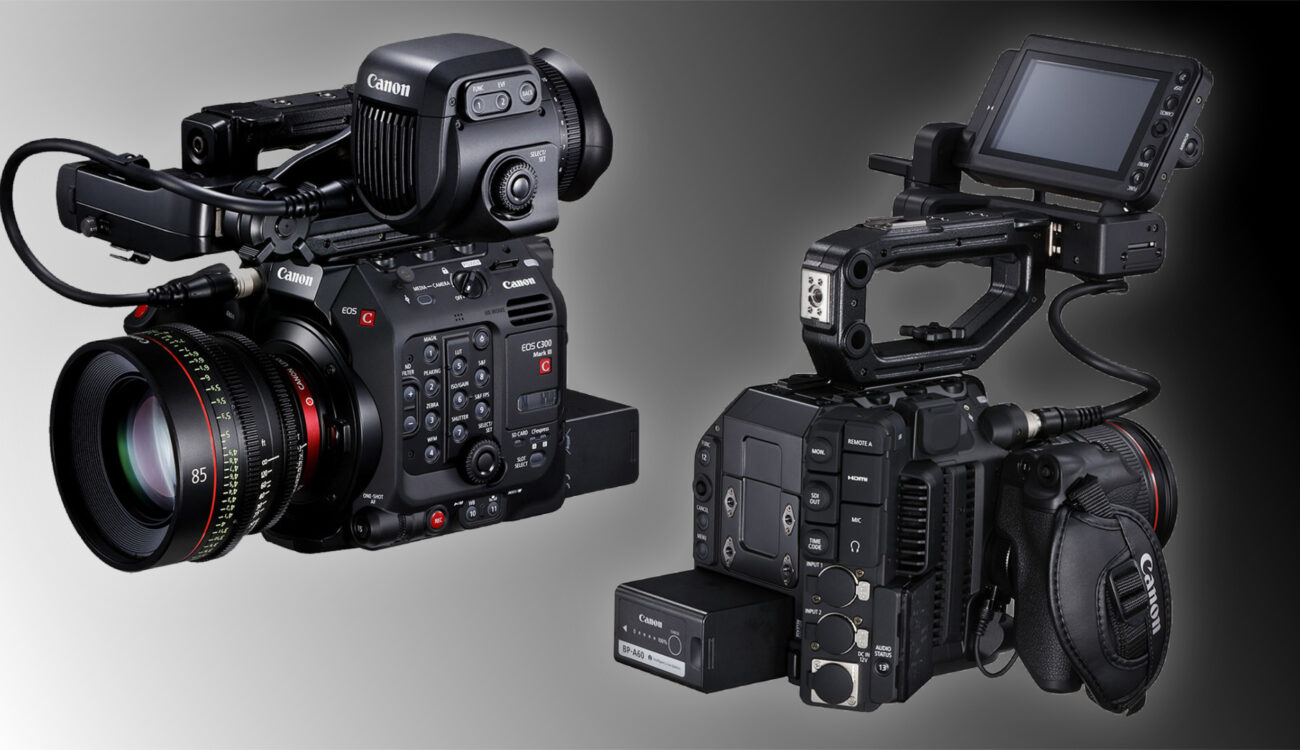 キヤノンがC300 Mark IIIおよびC500 Mark IIのファームウェアをアップデート