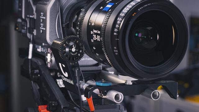 Chrosziel Zoomer used with a Sony Fx9