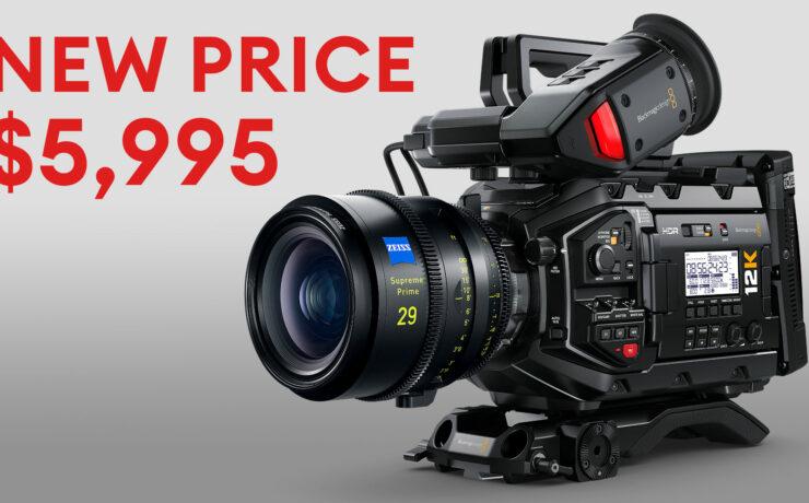 Blackmagic URSA Mini Pro 12K Price Reduction from $9,995 to $5,995