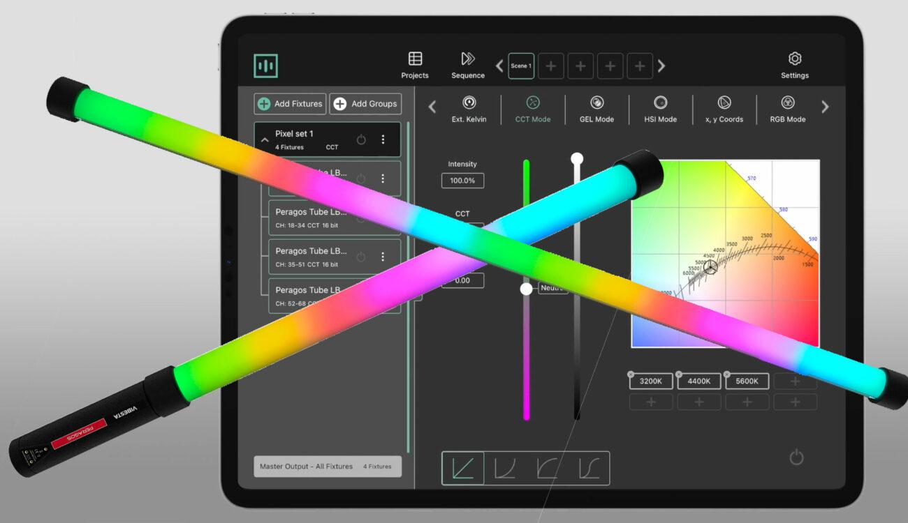 RTXがVibesta Peragos Tube照明用の Master App V2をリリース