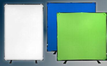 Anuncian los kits de fondo de Fotodiox – Trabajar con el croma y la difusión ahora es sencillo