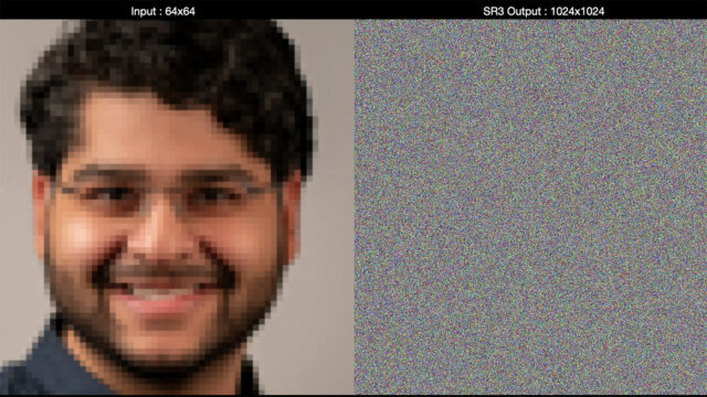 AI Photo Upscaling From Noise - Before