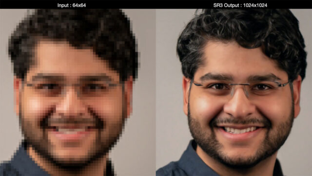 AI Photo Upscaling From Noise - After