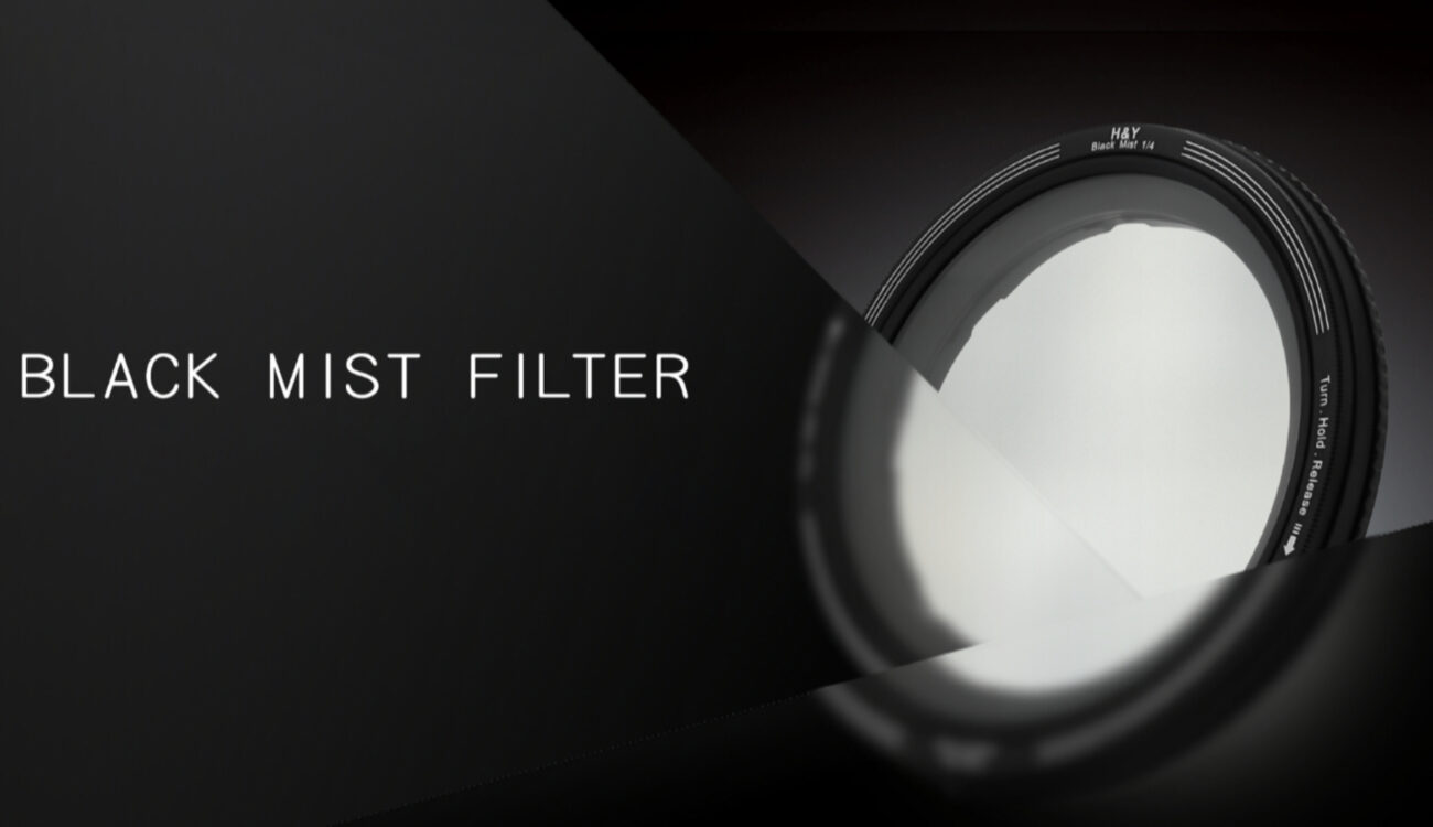 H&Y REVORING Black Mist Filter and Attachments Released