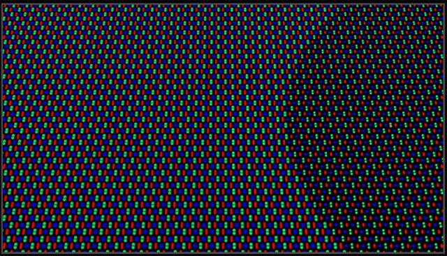 Oppo new pixel geometry