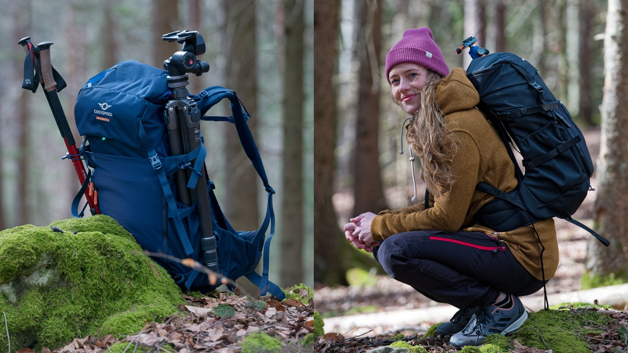 PHOTOHIKER Backpack - Available Now in Two Sizes on Kickstarter