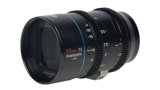 SIRUI Mars 50mm T2 Anamorphic 1.33x