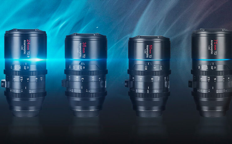 SIRUI Mars Released – Re-housed Anamorphic Lens Kit for Micro Four Thirds