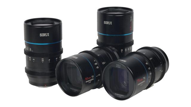 SIRUI Mars Anamorphic 1.33x lens kit