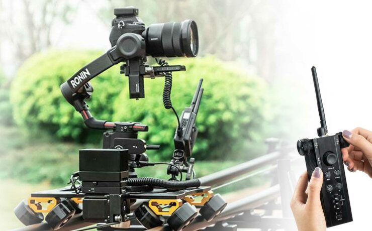 CAME-TV Remote Controlled Slider for DJI RS2 Launched