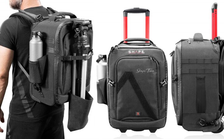 SHAPE Rolling Camera Backpack Announced
