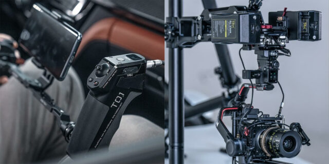 Tilta offers native support for the DJI RS2 gimbal