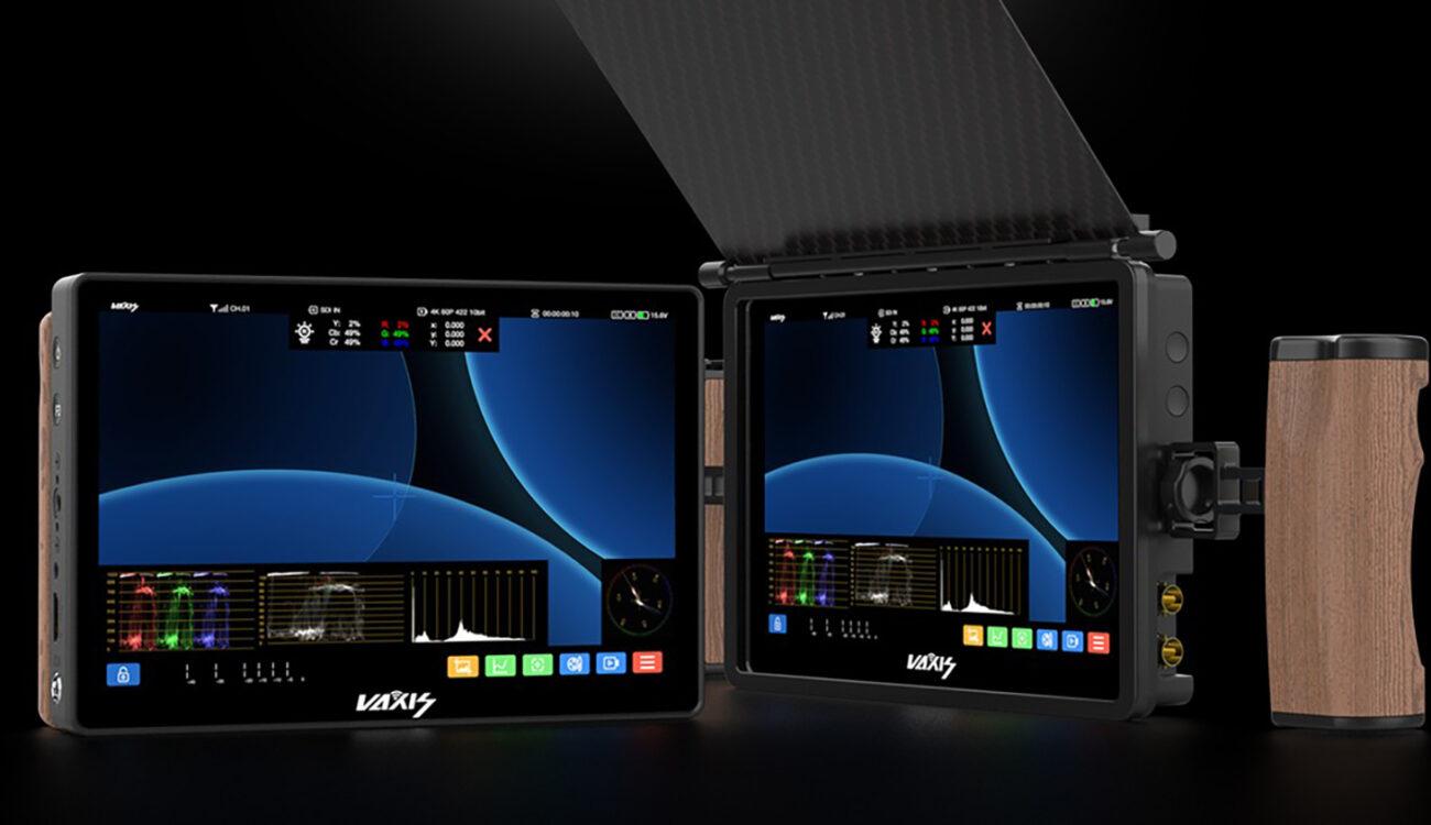 VaxisがCine8 ワイヤレスモニターを発売