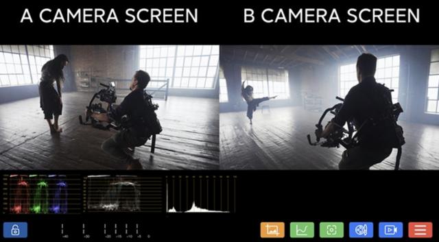 Vaxis Cine8 Split-Screen Feature