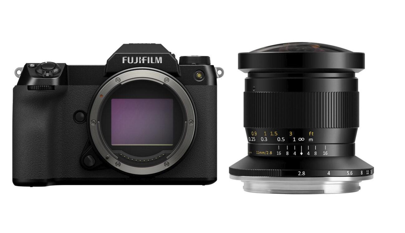 Lanzan el lente ojo de pez TTArtisan de 11mm para la línea de cámaras FUJIFILM GFX