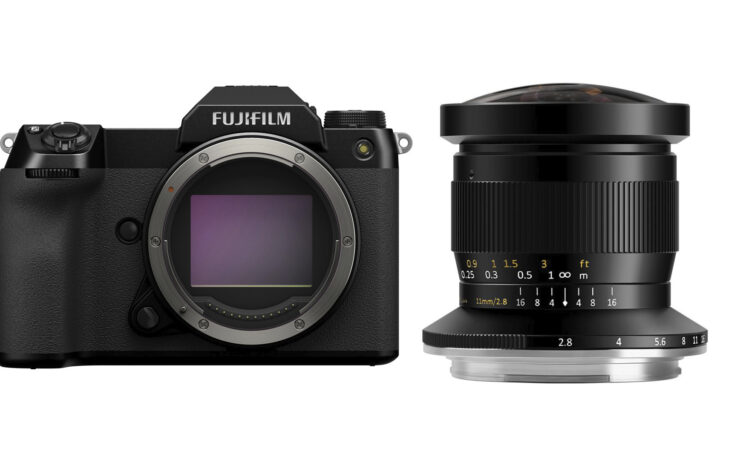 TTArtisan 11mm Fisheye Lens Launched – For FUJIFILM GFX