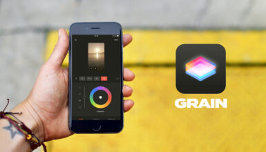Grainアプリレビュー - 色補正とエフェクトのiOS版