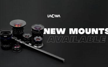 Laowa añade opciones de montura Z, RF, EOS-M y L-Mount en siete de sus lentes