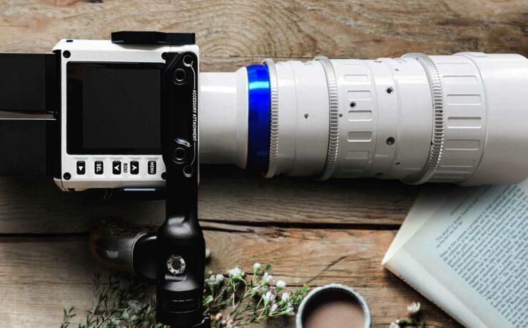 Piano White Versions of Laowa OOOM and Zero-D Cine Lenses for Red Komodo Released