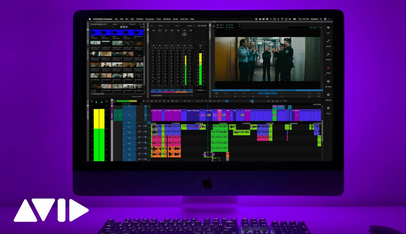 Actualización de Avid Media Composer 2021.6 - Nuevas mejoras en el flujo de trabajo