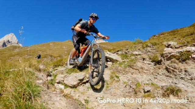 HERO10 4k resolution at 120 frames per second