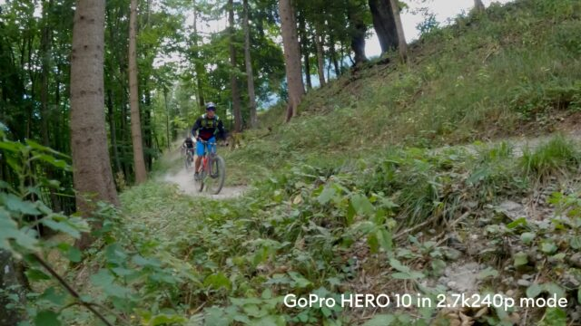 HERO10 2.7k at 240 frames per second