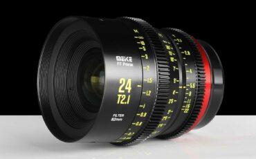 Meikeフルフレーム用シネレンズ「24mm T2.1」を発表