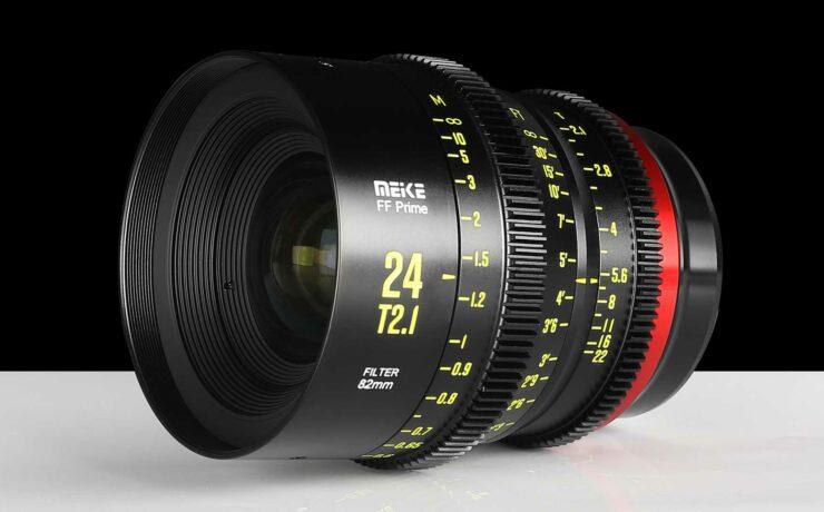 Meike 24mm T2.1 Full-Frame Cine Lens Announced