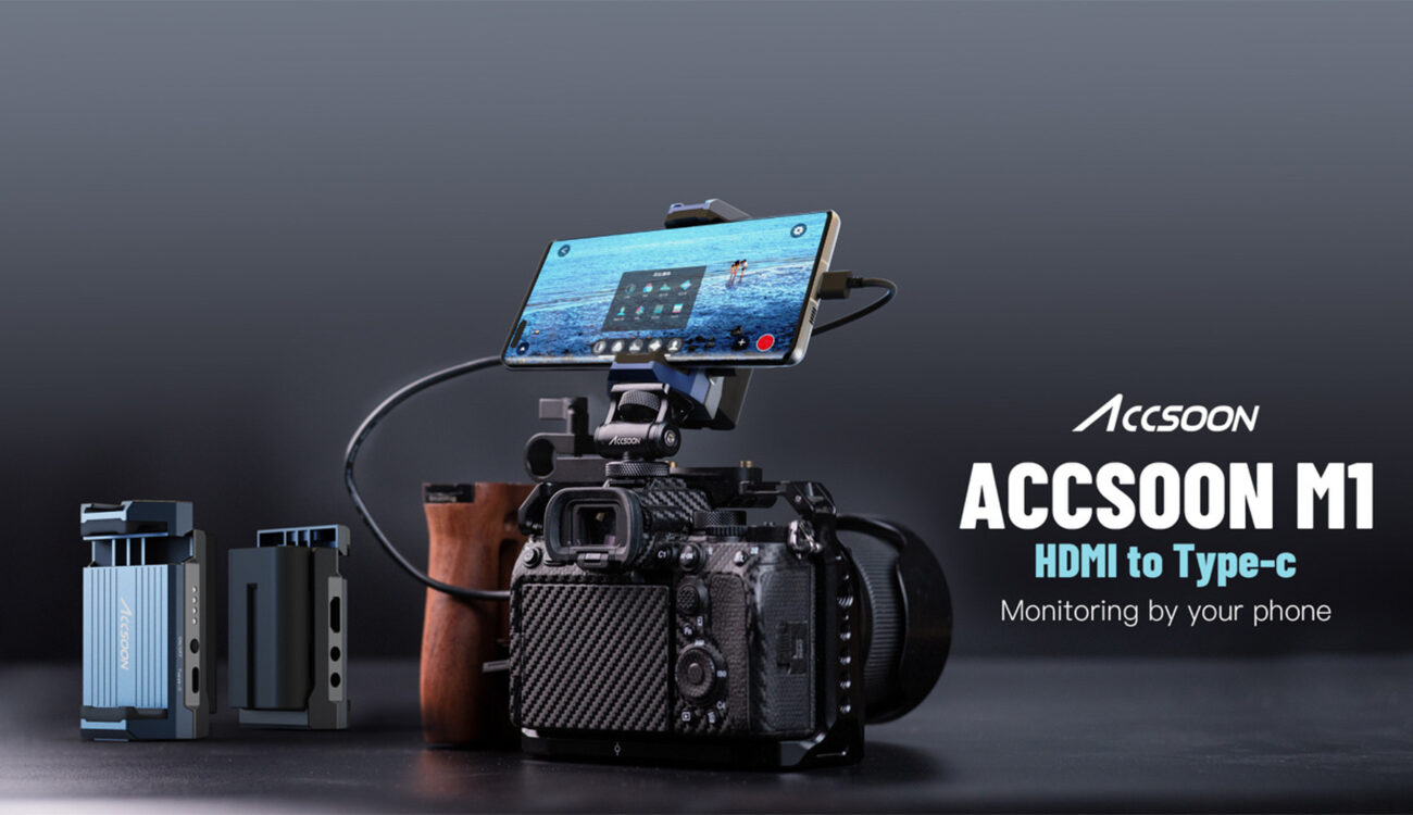 Use Your Android Phone as Monitor, Recorder & Streaming Device – Accsoon M1 HDMI to USB-C Video Adapter Teased