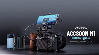 Accsoonがビデオアダプター「M1 HDMI to USB-C」を発表 - Androidスマートフォンをモニターレコーダー、ストリーミングデバイスとして活用