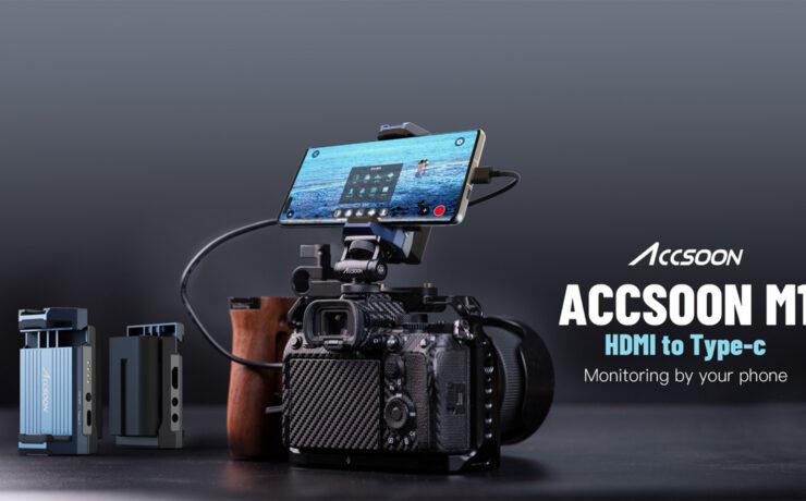 Usa tu teléfono Android como monitor, grabador y dispositivo de transmisión – Adelanto sobre el futuro adaptador de video Accsoon M1 HDMI a USB-C